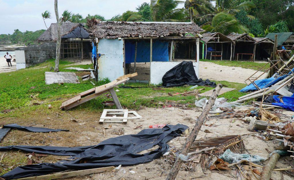 İklim Değişikliği Fiji Kasırgası